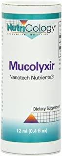 Nutricology Mucolyxir Liquid, 0.4 Ounce