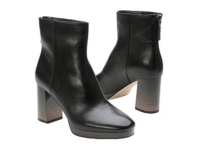 Sanctuary Razzle (Black Leather) Women