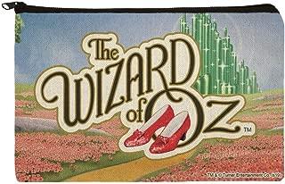 The Wizard of Oz Ruby Slippers Logo Pencil Pen Organizer Zipper Pouch Case