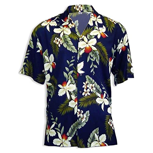 abf6c2eda Hawaiian Shirts for Men in Rayon - Made in Hawaii - Lots of Desings and  Colors