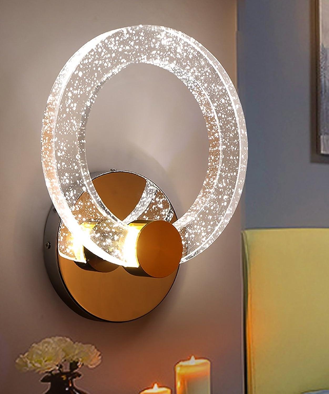 LVHIAPENG Kristall Wandleuchte kreative Persnlichkeit Schlafzimmer Nacht Aisle LED-Wandleuchte (gre   LH 15  20cm)