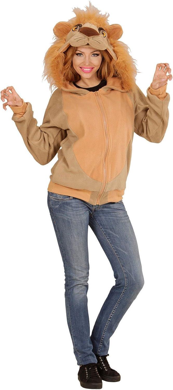 Karneval-Klamotten Löwe-n Kostüm Damen Erwachsene Löwe Jacke Karneval Tier-Kostüm Damen-Kostüm Einheitsgröße B019LMMBRM Haltbarkeit    Helle Farben