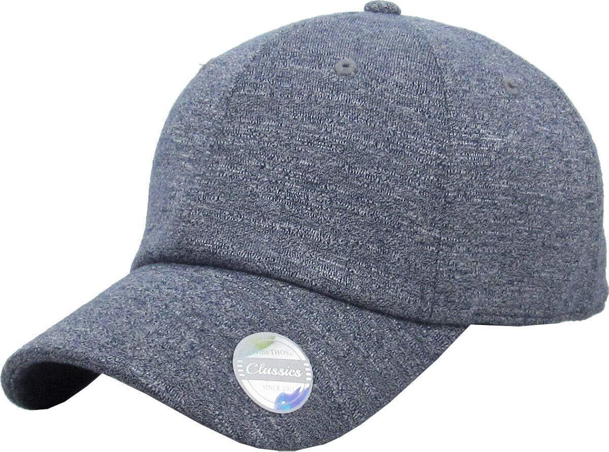 Wholesale Navy 6 Panel Award-winning store Melange Dad Hat Classic Pl Adjustable Soft Baseball
