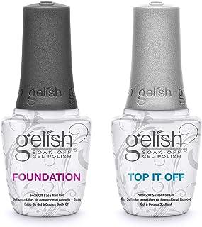 Gelish Dynamic Duo Foundation Base & Top It Off Sealer Soak Off Gel Nail Polish