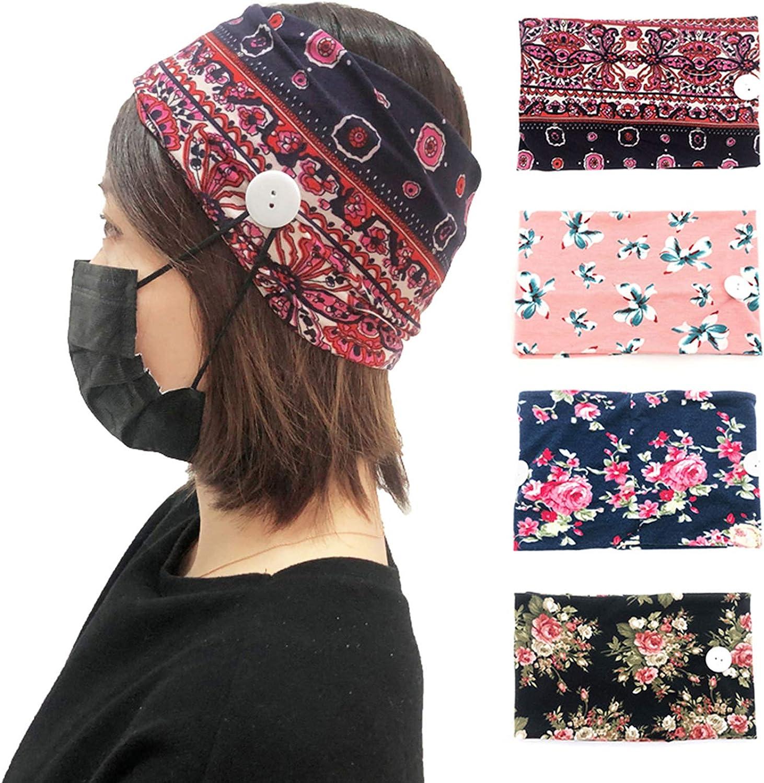Zando Boho Wide discount Headbands for Knotted Women Cute Trust Hai -