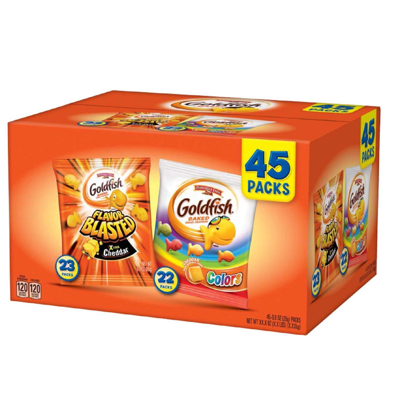 Pepperidge Max 83% OFF Farm Goldfish Variety Pack Max 61% OFF 45 A1 ct. oz. 0.9