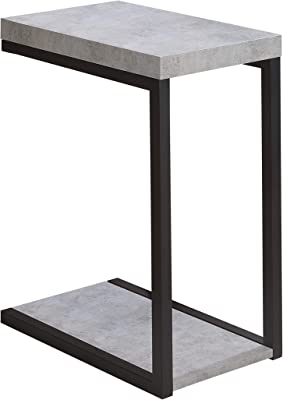 Coaster Furniture CO- Snack Table, Cement and Black