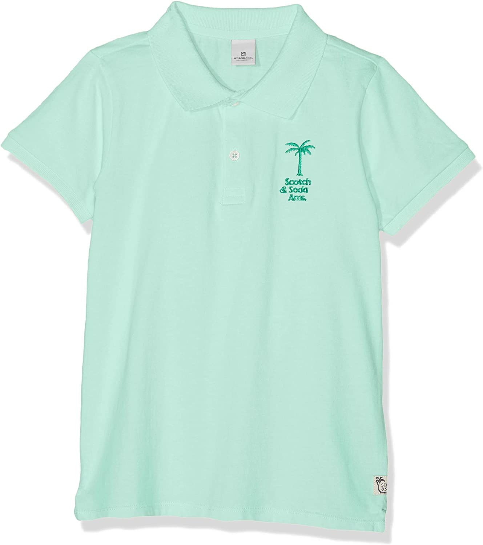 Scotch /& Soda Jungen Garment Dyed Polo Poloshirt