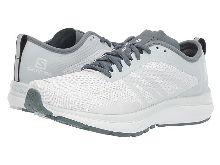Salomon Running Shoes   Womens SONIC RA MAX 2 W WhiteIllusion BlueStormy Weather