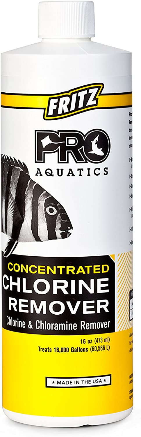 Fritz Aquatics free shipping Houston Mall Pro Concentrated Chloramines Remover Chlorine