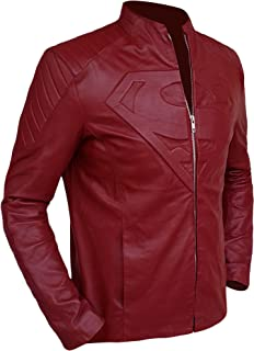 Best red leather superman jacket smallville Reviews