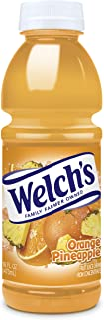 Welch's Orange/Pineapple Juice, 16 oz - Pk of 12