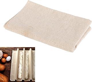 SODIAL Tissu fermente de bacs a Patisserie pour la Preparation des pates Tapis de Cuisson a Pain et a Baguette Outils de C...