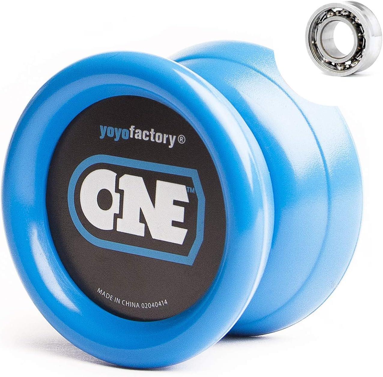 YoyoFactory ONE Yo-Yo - Black Gifts Spinning Directly managed store yoyo to Beginner Modern