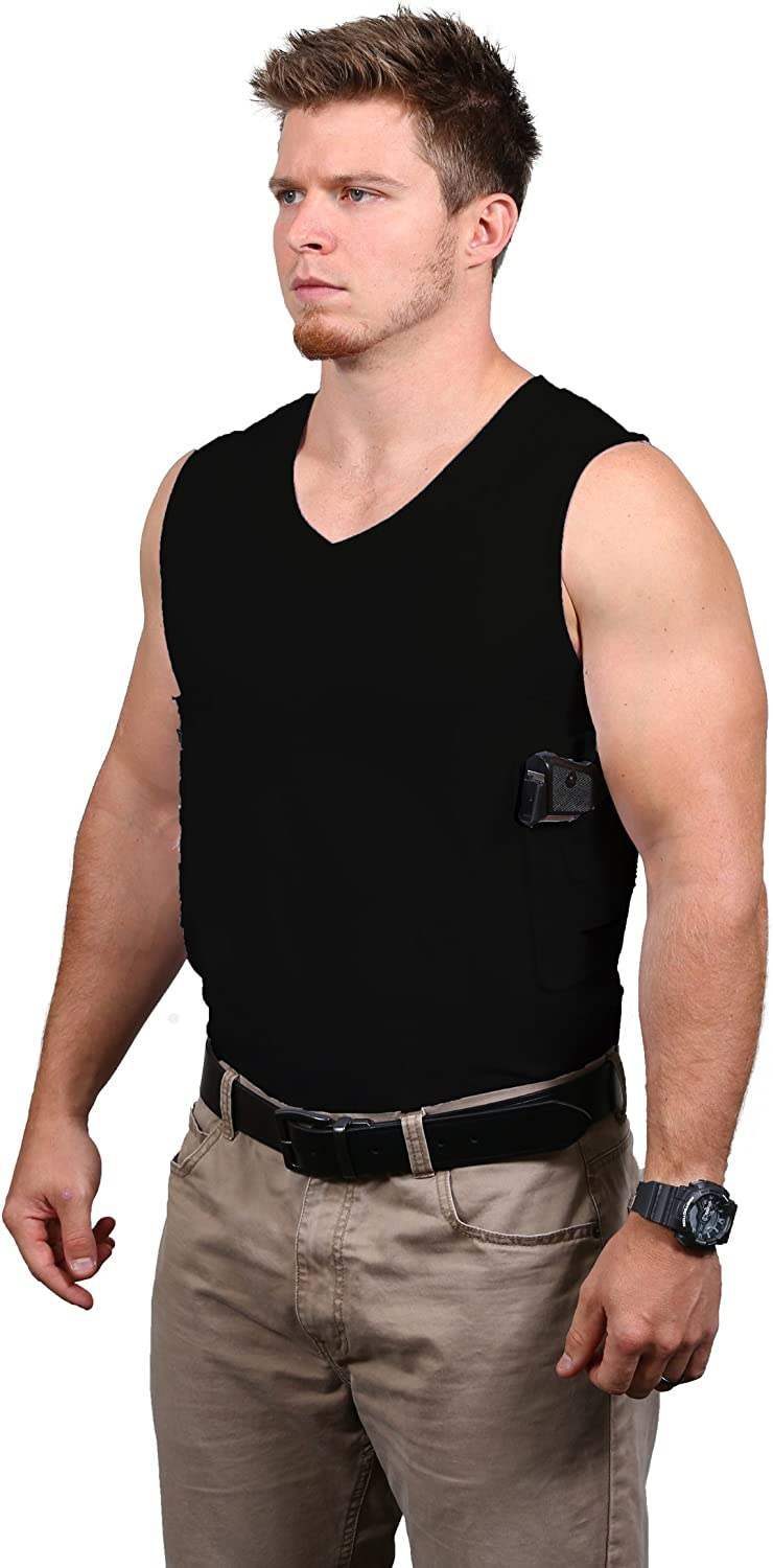 Packin' Tee Concealed Carry T-Shirt, Black, Small