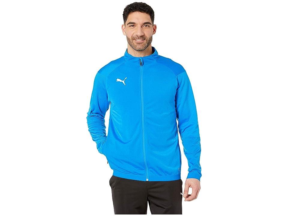 PUMA Liga Training Jacket (Electric Blue Lemonade/Puma White) Men