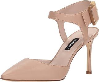 70% de descuento Nine West Wohombres ELISABETI Heeled Sandal, Sandal, Sandal, Light Natural Leather, 5.5 M US  promociones emocionantes