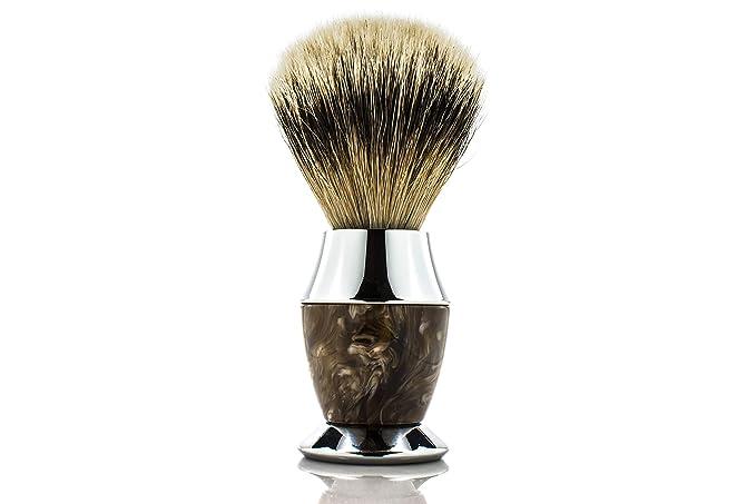 Maison Lambert Silvertip Badger Shaving Brush