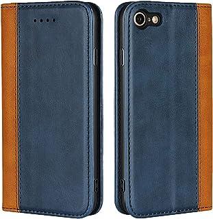 Cavor for iPhone SE 2020 Case,iPhone 7/8 Case,Premium Leather Folio Flip Wallet Case Cover Magnetic Closure Book Design wi...