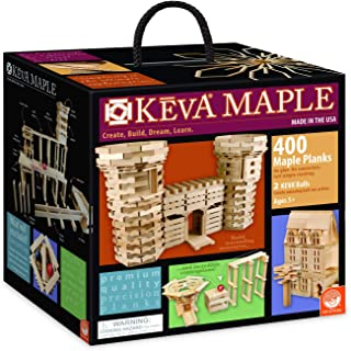 KEVA Maple 400 Plank Set
