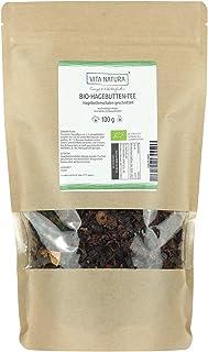 Vita Natura Hagebutten Tee, Traditioneller Kräutertee, Bio, 1er Pack 1 x 100 g
