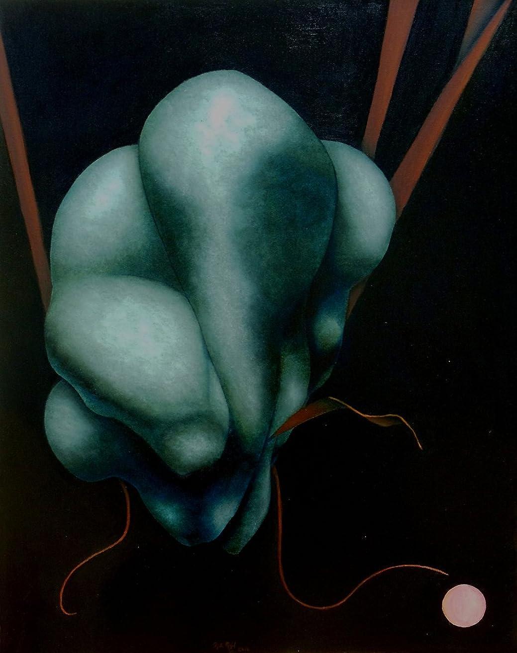 Toque Divino (Divine Touch), Original Oil on Canvas by Héctor Rafael