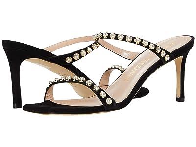 Stuart Weitzman Aleena 75 Pearls (Black) Women