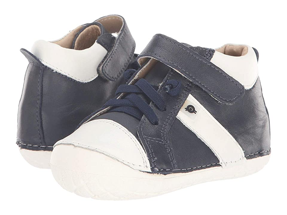 Old Soles Earth Pave (Infant/Toddler) (Navy/White) Boy