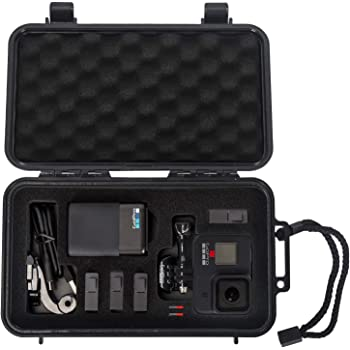 Smatree Waterproof Hard Case Compatible for Gopro Hero 9/8/7/6/5/Hero 2018 (Camera and Accessories NOT Included)