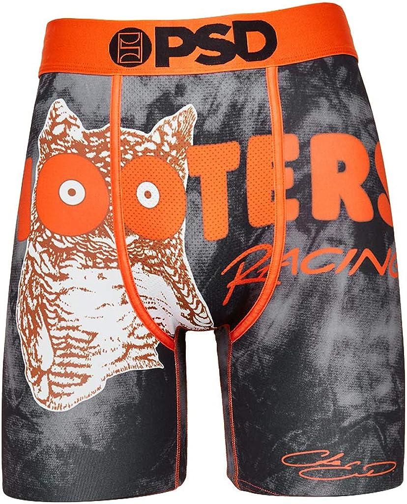 PSD Underwear Men's Hooters Racing Printed Boxer Brief