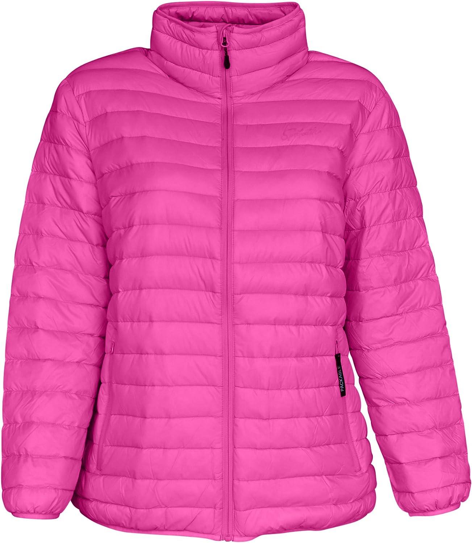 SportCaster Women's Plus Size Packable Down Jacket