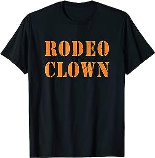 Rodeo Clown Halloween T-Shirt