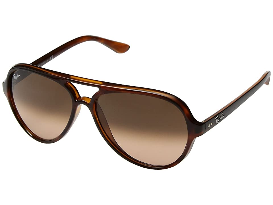 Ray-Ban Cats 5000 RB4125 59mm (Havana/Pink Brown Gradient) Fashion Sunglasses