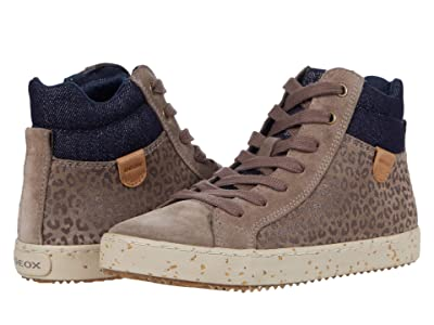 Geox Kids Kalispera 41 (Little Kid/Big Kid) (Smoke Grey) Girl