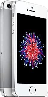 Tracfone Apple iPhone SE 4G LTE Prepaid Smartphone (32GB - Silver)