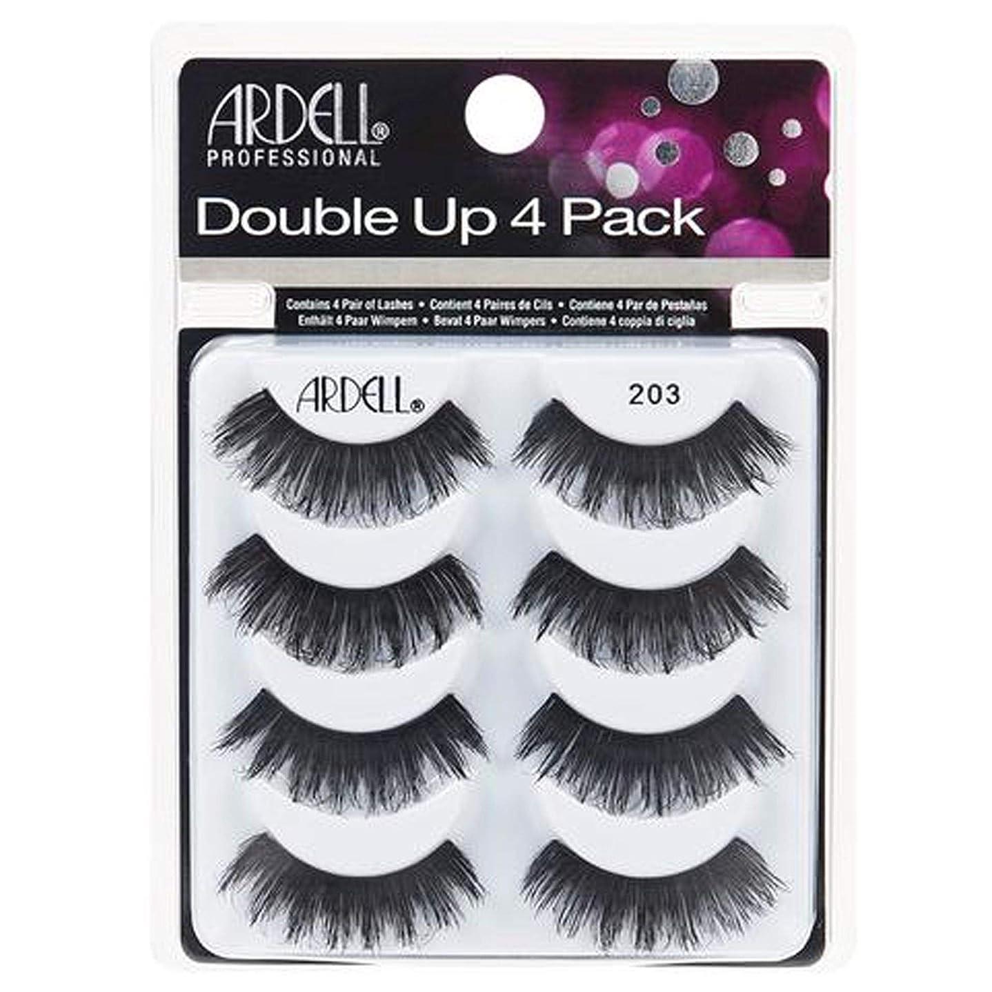 立ち寄る好ましい熟したArdell Double Up 4 Pack Lashes - 203