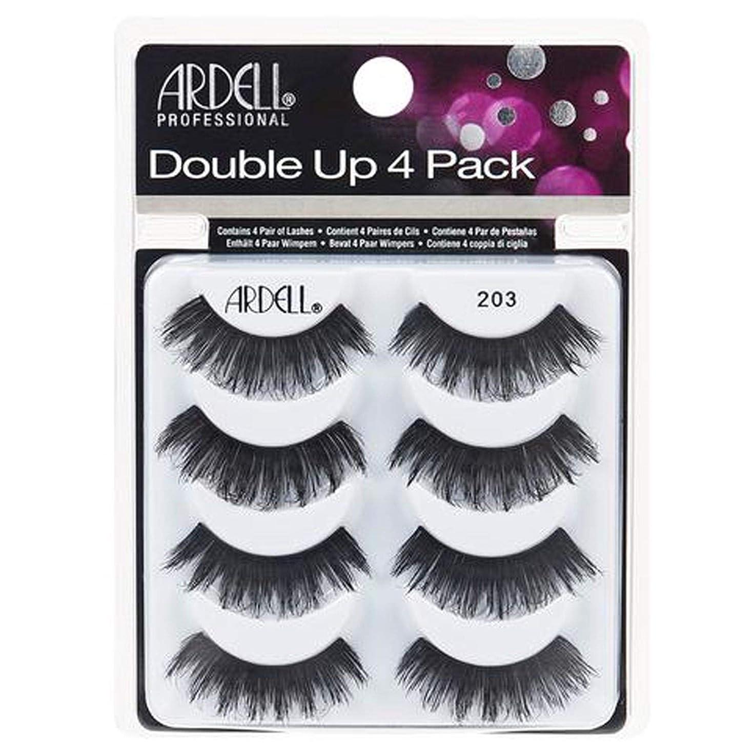 害虫歪める不可能なArdell Double Up 4 Pack Lashes - 203