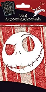 Trends International Nightmare Before Christmas - Jack Head - One Color Decal