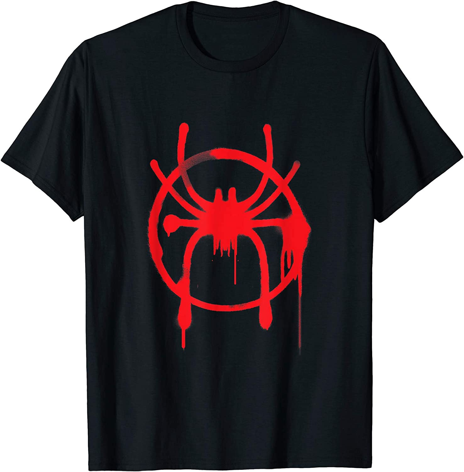 Marvel Youth Spiderman Spidey On Web In Front Of Logo Shirt New M