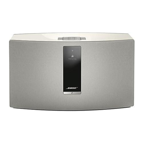 Enceinte sans Fil (Bluetooth/Wi-FI) Bose SoundTouch 30 Série III avec tous les appareils avec Amazon Alexa intégré - Blanc
