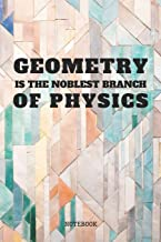 Notebook: Your Geometry Planner / Organizer / Lined Notebook (6 x 9)