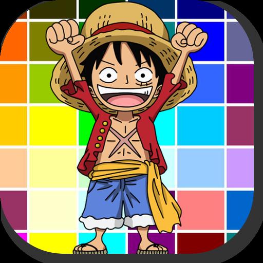 Pirate Anime Coloring Memo Comic Kids