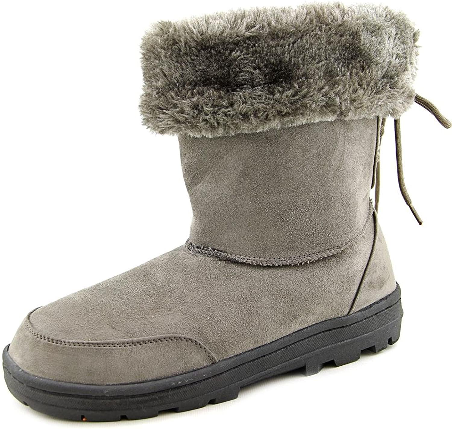 Seven Dials Womens Oriole Faux Suede Cold Weather Booties