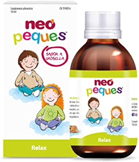 Neo Peques | Jarabe Infantil para Niños Relax | 150 ml | Ayuda a reducir la agitación nerviosa y la ansiedad