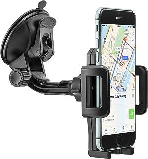 MidGard Universal 360° drehbar KFZ Auto Handy Smartphone Halterung Halter kompatibel mit Apple iPhone 5/6 / 7/8 / X/Plus