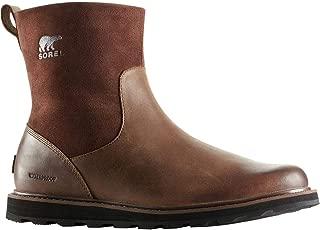 Sorel Madson Zip Waterproof Boot - Men's Tobacco/Black, 15.0