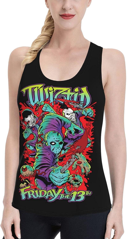 WJSDOWOWEN Twiztid Women's Vest Fashion Sweatshirt Casual T-Shirt Women's Summer Sleeveless Top