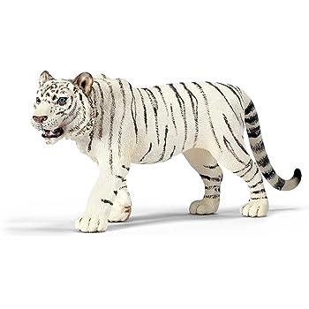 98 Schleich 14384 tigre jeune blanc debout