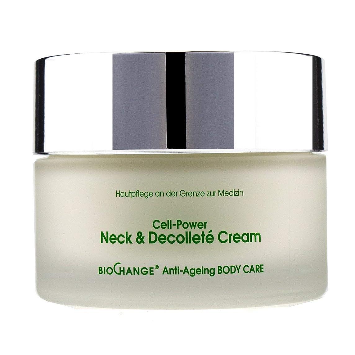 小学生いいね衝突コースMBR Medical Beauty Research BioChange Anti-Ageing Body Care Cell-Power Neck & Decollete Cream 200ml/6.8oz並行輸入品