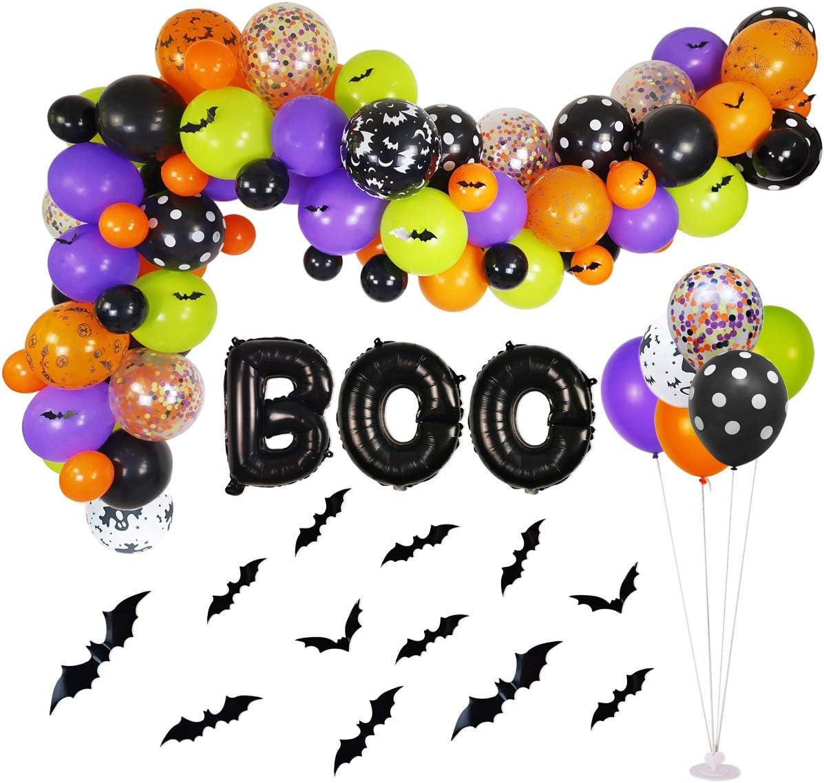 Halloween Balloon Garland Arches